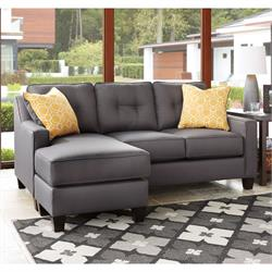 Nuvella Sofa/Chaise Grey 6870218 Image