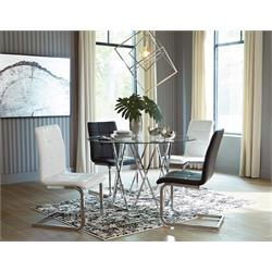 R GLASS/WT/BK CHAIRS D275-01-02-15 Image