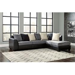 Charcoal RAF Chaise Sofa 99804 17 66 Image